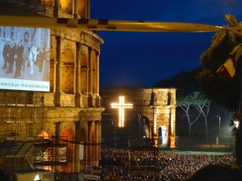 Via Crucis at the Colosseum – Good Friday, 2014